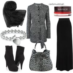 Winter Fly, created by jamericanmuslimah on Polyvore