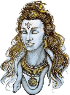 Baba Kali Hindu, Hindu Art, Shiva Art, Shiva Shakti, Shiva Tattoo Design, Om Namah Shivay, Lord Mahadev, Shading Techniques, Lord Murugan