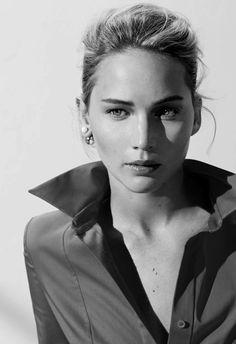 Jennifer Lawrence. Pinned by @lilyriverside