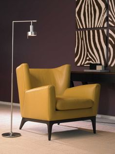The retro Cole Chair by American Leather