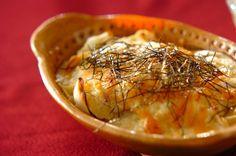 ユリネを和風のグラタンに。ホクホクおいものような食感です。ユリネと豆腐のグラタン/近藤 瞳のレシピ。[和食/焼きもの]2016.01.04公開のレシピです。
