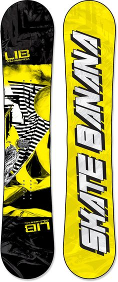 The Lib Tech Skate Banana BTX snowboard is an all-mountain slayer loaded with pop and performance. #REIGifts