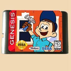 >> Click to Buy << Fix it Felix - 16 bit MD Games Cartridge For MegaDrive Genesis console #Affiliate