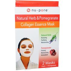 United Exchange Corp, Collagen Essence Mask, Natural Herb