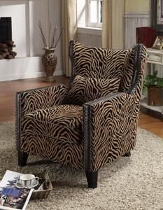 Giraffe Print Chair Pub Chairs For Sale 126 Best Animal Images Prints Patterns Armen Living Accent In Tiger Chenille Furniture Club Nail Head