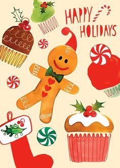 Ale oczywiście najlepszym prezentem są przysmaki, które znaleźć można nie pod choinką, a na świątecznym stole, pierniki mojej mamy nie mają sobie równych! :) Wesołych Świąt, wszystkim!