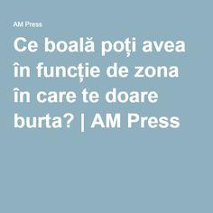 Ce boală poți avea în funcție de zona în care te doare burta?   AM Press Pandora, Healthy, Medicine, Pharmacy, Health