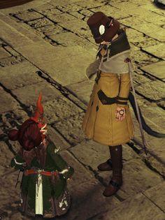 rididi as tiny summoner with odango head.