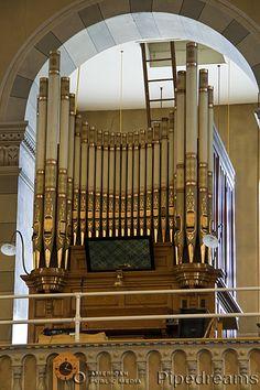 1900 Casavant organ, Opus 113, at the Eglise de l'Annonciation, Oka, Quebec, Canada