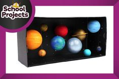 to create your own model solar system with a handful of craft components and this handy how to by Suzie Attaway.Learn to create your own model solar system with a handful of craft components and this handy how to by Suzie Attaway. Solar System Science Project, Solar System Projects For Kids, Solar System For Kids, Space Solar System, Solar System Crafts, Space Projects, Solar Projects, Space Crafts, School Projects