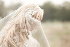 Gold or Silver Alencon Lace Juliet Bridal Cap by veiledbeauty