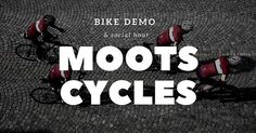 We are stoked to have Moots Cycles at our shop for an exclusive demo of some of their best bikes. Well have some road/gravel and MTB options available. Bikes must be reserved through our ticketing system (FREE). Friday April 27 at 2pm. Link in profile! ... ... ... ... ... ... ... ... ... #moots #titanium #bikedemo #bikeshop #mootscycles #socialhour #bikesocial #richmond #rva #carytown #highendbikes