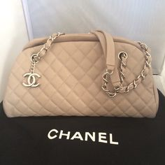 Chanel Mademoiselle Bowling Shoulder Bag. Get one of the hottest styles of the season! The Chanel Mademoiselle Bowling Shoulder Bag is a top 10 member favorite on Tradesy. Save on yours before they're sold out!