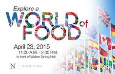 Explore a World of Food - Food Festival