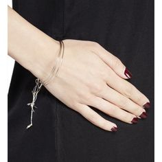 Dainty cord tie bangle trio Brand new includes 3 individual bracelets Jewelry Bracelets