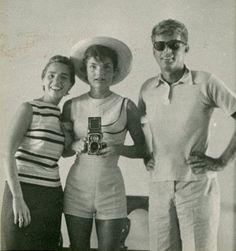 Ethel Kennedy, Jackie & JFK