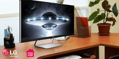 Complete your home office with an LG UltraWide Monitor: http://www.lg.com/us/promotions/home-entertainment-deals.jsp #MakeMovingEasy