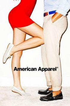 Nouvelle campagne provoc' pour American Apparel.