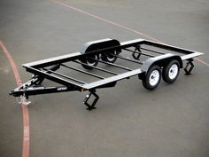 The best tiny house trailer manufacturers & how to. Choosing the right trailer to start your tiny house build is one of the most important decisions you'll make. When I started my house there was no such thing as a tiny house trailer. Utility Trailers For Sale, Custom Trailers, Tiny Trailers, Tiny House Trailer, Camper Trailers, Work Trailer, Trailer Diy, Trailer Plans, Trailer Build