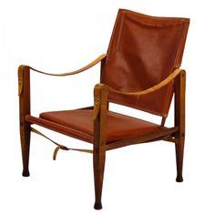 Scandinavia: Safari chair by Kaare Klint, 1933.