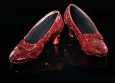 Harry Winston Ruby Slippers - The overwhelming pair of shoe has 50 carats diamonds and 4,600 gleaming rubies that were designed to mark The Wizard of Oz's fiftieth anniversary. The elegant and sophisticated pair is priced at $3,000,000 million.