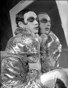 Sebastian Droste, poet actor and dancer of 1920s gay Berlin subculture. He was also married to dancer Anita Berber and performed with her often. Photo by Francis Bruguiere...