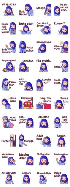 Use this sundanese set sticker with Euis a hijab girl for your daily conversation. Enjoy and share these cute stickers with your friends. Hijab Drawing, Friend Cartoon, Best Friend Drawings, Cute Muslim Couples, Islamic Cartoon, Cute Couple Cartoon, Hijab Cartoon, Words With Friends, Cartoon Jokes