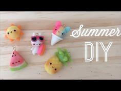 Des petits breloques pour fêter l'été et l'arrivée du soleil !