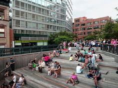 Highline Park, NYC, Summer