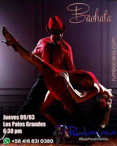 Esta semana en Rumbacana Aprende a Bailar #Bachata Jueves Invita un amigo al #SanoVicioDeBailar ... Ven y #BailaParaDivertirte  Somos un grupo de personas con una pasión #BAILAR y una vocación #ENSEÑAR Son DIECISÉIS AÑOS dedicados a la docencia del #Baile #Rumbacana se está reinventando #reloaded - #regrann