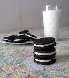 Homemade Oreo Cookies - Bless This Mess
