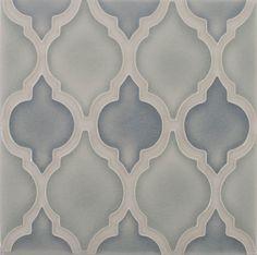american handmade decorative ceramic wall tile pratt and larson Motif handpainted backsplash crackle Ceramic Wall Tiles, Ceramic Decor, Handmade Decorations, Tile Patterns, Backsplash, Monochrome, Hand Painted, Ceramics, Canning