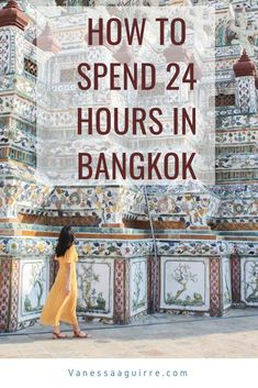 Looking for the perfect way to spend 24 hours in Bangkok? Look no more! This guide highlights the best 1 day Bangkok itinerary. Including can't miss Bangkok Temples, Bangkok Street Food, and Bangkok Rooftop bars.