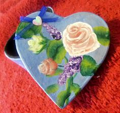 Decorative Gift/Trinket Handpainted Box with by WorkshopWeaver, $6.00