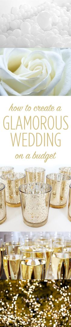 Glamorous Wedding On A Small Budget Plum WeddingWedding TipsDiy WeddingFall WeddingPerfect