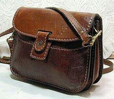 586d5b3c1ea0 Messenger Bag Backpack, Vintage Bags, Vintage Leather Bags, Vintage  Handbags, Leather Projects