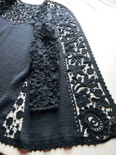 Crochet World February 2019 - Louisa Crochet Coat, Crochet Jacket, Crochet Cardigan, Crochet Shawl, Crochet Clothes, Lace Jacket, Crochet Motifs, Freeform Crochet, Irish Crochet