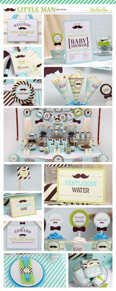 ••• Little Man Baby Shower Party Theme ••• Shop Them Here: https://www.etsy.com/shop/LeeLaaLoo/search?search_query=s12&order=date_desc&view_type=gallery&ref=shop_search ♥♥♥ Vendor Credits: ♥ Party Styling: LeeLaaLoo - www.leelaaloo.com ♥ Party Printable Design & Decoration: LeeLaaLoo - www.etsy.com/shop/leelaaloo Our YouTube channel for some DIY tutorials here: http://www.youtube.com/leelaaloopartyideas