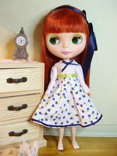 dress outfit clothes  for Blythe by erikaschiavone on Etsy, $10.00