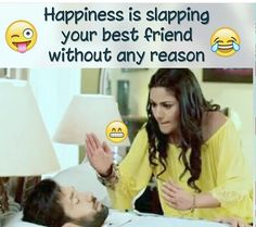 # Maryyum waseem sai mein bari khushi milti h😂😂 Funny School Jokes, Some Funny Jokes, Crazy Funny Memes, Really Funny Memes, Funny Facts, Funny College, Funny Humour, Hilarious, Best Friend Quotes Funny