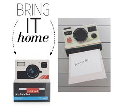 """""""Bring It Home: Instant Camera Style Sticky Notes"""" by polyvore-editorial ❤ liked on Polyvore featuring interior, interiors, interior design, home, home decor, interior decorating, Topshop and bringithome"""