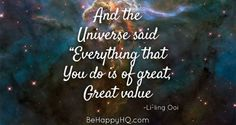 And this is how the Universe replied My Mind, Everything, My Heart, Universe, Mindfulness, Sayings, Happy, Gold, Lyrics