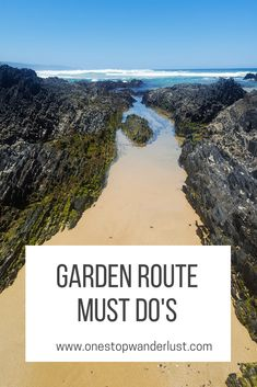 Essential top Garden Route must do's suitable for kids of most ages written by a mom Beautiful Places To Visit, Cool Places To Visit, Places To Travel, Garden Route South Africa, Wilderness South Africa, African Holidays, Africa Destinations, Holiday Destinations, Holiday Places