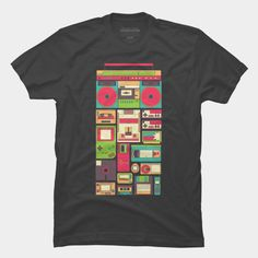 Nostalgic Gadgets T Shirt By Sknny Design By Humans