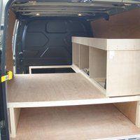 Photo Van031 Zps13411b56 Jpg Van Storage Van Shelving Van Racking