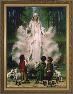 """Church Approved Apparition of Our Lady The Blessed Virgin Mary gave this message to Lucia at Fatima in """"Jesus wants to use you to mak. Catholic Art, Catholic Saints, Religious Art, Roman Catholic, Catholic Doctrine, Catholic Store, Catholic Company, Catholic Religion, Christianity"""