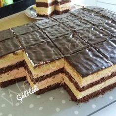 Álom diós-kávés sütemény Cake Recipes, Dessert Recipes, Winter Food, No Bake Desserts, No Bake Cake, Nutella, Food And Drink, Cooking Recipes, Sweets
