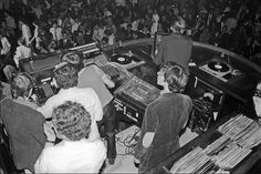 Studio 54 dj booth.