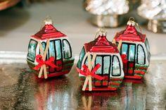 ski gondola @wyhnalek Ski, Christmas Ornaments, Holiday Decor, Home Decor, Decoration Home, Room Decor, Christmas Jewelry, Skiing, Christmas Decorations