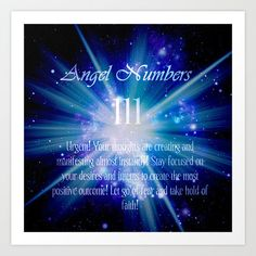 spiritual 111 angel numbers images - Google Search